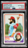 Bruce Sutter Signed 1983 Topps #150 (PSA Encapsulated) at PristineAuction.com