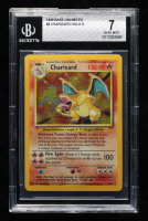 Charizard 1999 Pokemon Base Unlimited #4 HOLO (BGS 7) at PristineAuction.com
