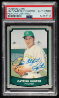 Catfish Hunter Signed 1988 Pacific Legends I #16 (PSA Encapsulated) at PristineAuction.com