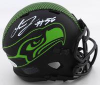 Jordyn Brooks Signed Seahawks Eclipse Alternate Speed Mini Helmet (Beckett COA) at PristineAuction.com