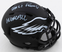 """Vince Papale Signed Eagles Eclipse Alternate Speed Mini Helmet Inscribed """"Invincible"""" (Beckett COA) at PristineAuction.com"""