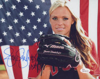 "Jennie Finch Signed Team USA 8x10 Photo Inscribed ""USA"" (JSA COA) at PristineAuction.com"