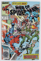 "Stan Lee Signed 1988 ""Web Of Spider-Man"" Issue #44 Marvel Comic Book (Lee Hologram) at PristineAuction.com"