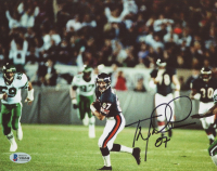 Tom Waddle Signed Bears 8x10 Photo (Beckett COA) at PristineAuction.com