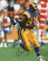 """Dick Vermeil Signed Rams 8x10 Photo Inscribed """"Be Blessed"""" (Beckett COA) at PristineAuction.com"""