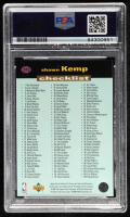 Shawn Kemp Signed 1995-96 Collector's Choice #209 CL (PSA Encapsulated) at PristineAuction.com