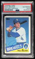 Paul Molitor Signed 1985 Topps #522 (PSA Encapsulated) at PristineAuction.com