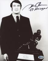"Steve Owens Signed Oklahoma Sooners 8x10 Photo Inscribed ""'69 Heisman"" (Beckett COA) at PristineAuction.com"