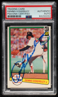 Dennis Eckersley Signed 1982 Donruss #30 (PSA Encapsulated) at PristineAuction.com