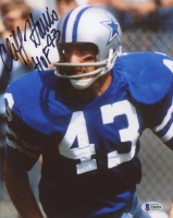 """Cliff Harris Signed Cowboys 8x10 Photo Inscribed """"HOF 93"""" (Beckett COA) at PristineAuction.com"""