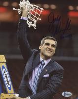 """Jay Wright Signed Villanova Wildcats 8x10 Photo Inscribed """"Go Cats"""" (Beckett COA) at PristineAuction.com"""