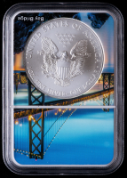 2013-(S) American Silver Eagle $1 One Dollar Coin - San Francisco Core (NGC MS69) at PristineAuction.com