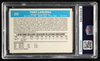 Tony LaRussa Signed 1982 Donruss #319 MG (PSA Encapsulated) at PristineAuction.com