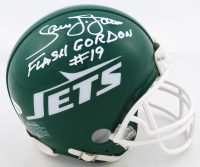 "Sam J. Jones Signed ""Flash Gordon"" Jets Mini Helmet Inscribed ""Flash Gordon"" (Beckett COA) at PristineAuction.com"