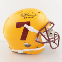 "Joe Theismann Signed Full-Size Authentic On-Field Vengeance Helmet Inscribed ""83 MVP"" (JSA COA) at PristineAuction.com"