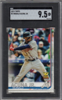 Ronald Acuna Jr. 2019 Topps #1 (SGC 9.5) at PristineAuction.com
