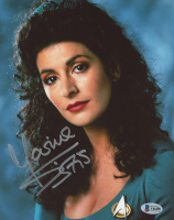 Marina Sirtis Signed 8x10 Photo (Beckett COA) at PristineAuction.com