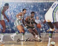 Oscar Robertson Signed Bucks 8x10 Photo (Stacks of Plaques COA) at PristineAuction.com