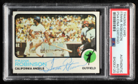 Frank Robinson Signed 1973 Topps #175 (PSA Encapsulated) at PristineAuction.com