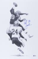 Rod Smith Signed Broncos 11x17 Print (Beckett COA) at PristineAuction.com