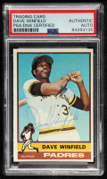 Dave Winfield Signed 1976 Topps #160 (PSA Encapsulated) at PristineAuction.com