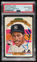 Dave Winfield Signed 1982 Donruss #18 DK (PSA Encapsulated) at PristineAuction.com