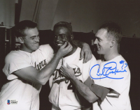 Carl Erskine Signed Dodgers 8x10 Photo (Beckett COA) at PristineAuction.com