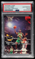 Shawn Kemp Signed 1993-94 Stadium Club #355 FF (PSA Encapsulated) at PristineAuction.com