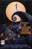 "Danny Elfman Signed ""The Nightmare Before Christmas"" 8x12 Movie Poster Print (Beckett COA & PSA Hologram) at PristineAuction.com"