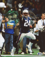Ty Law Signed Patriots 8x10 Photo (Beckett COA) at PristineAuction.com