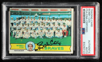 Bobby Cox Signed 1979 Topps #302 Atlanta Braves CL MG (PSA Encapsulated) at PristineAuction.com