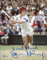 "John McEnroe Signed 8x10 Photo Inscribed ""Good Luck!"" (JSA COA) at PristineAuction.com"