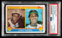 Tony Perez Signed 1983 Topps #716 SV (PSA Encapsulated) at PristineAuction.com