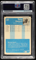 Tony Gwynn Signed 1984 Fleer #301 (PSA Encapsulated) at PristineAuction.com