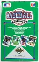 1990 Upper Deck Baseball Box of (36) Packs (See Description) at PristineAuction.com