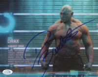 "Dave Bautista Signed ""Guardians of the Galaxy"" 8x10 Photo (AutographCOA COA) at PristineAuction.com"