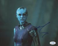 "Karen Gillan Signed ""Guardians of the Galaxy"" 8x10 Photo (AutographCOA COA) at PristineAuction.com"