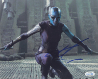 "Karen Gillan Signed ""Guardians of the Galaxy"" 8x10 Photo (AutographCOA COA) at PristineAuction.com"
