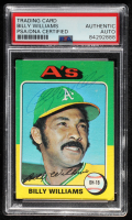 Billy Williams Signed 1975 Topps #545 (PSA Encapsulated) at PristineAuction.com