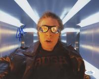 "Evan Peters Signed ""X-Men: Apocalypse"" 8x10 Photo (AutographCOA COA) at PristineAuction.com"