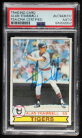 Alan Trammell Signed 1979 Topps #358 (PSA Encapsulated) at PristineAuction.com