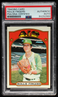 Rollie Fingers Signed 1972 Topps #241 (PSA Encapsulated) at PristineAuction.com