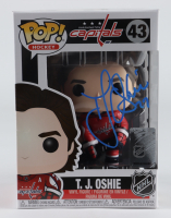 T. J. Oshie Signed Capitals #43 Funko Pop! Vinyl Figure (JSA COA) at PristineAuction.com