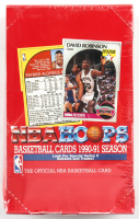 1990-91 NBA Hoops Series 2 Basketball Box of (36) Packs at PristineAuction.com