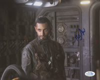 """Riz Ahmed Signed """"Rogue One: A Star Wars Story"""" 8x10 Photo (AutographCOA COA) at PristineAuction.com"""