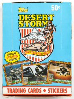 1991 Topps Desert Storm Coalition for Peace with (36) Packs (See Description) at PristineAuction.com