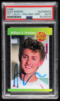 Alex Winter Signed William S. Preston Phantom Cardboard Trading Card (PSA Encapsulated) at PristineAuction.com