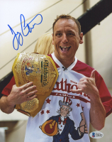 Joey Chestnut Signed 8x10 Photo (Beckett Hologram) at PristineAuction.com