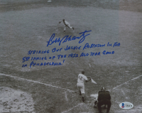 Bobby Shantz Signed Athletics 8x10 Photo with Extensive Inscription (Beckett COA) at PristineAuction.com