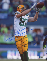 Jordy Nelson Signed Packers 8x10 Photo (Beckett COA) at PristineAuction.com